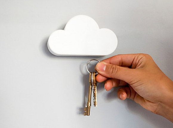 Magnetic Cloud Key Hook
