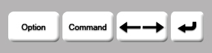 Mac Keys: Adjust Kerning