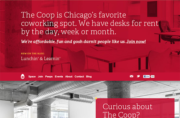 40 Beautiful Examples Of Monochromatic Website Design