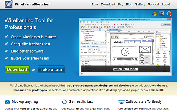WireframeSketcher: Innovative Interface Design Tool for Professionals