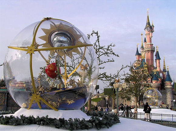 Christmas in Eurodisney
