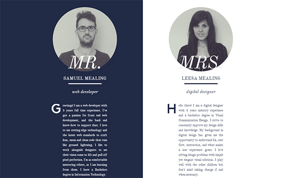 the mealings - Graphic Design Portfolio Ideas