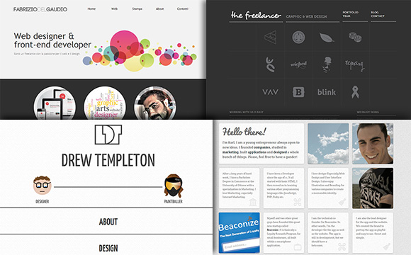 60 clean and simple examples of portfolio design - Graphic Design Portfolio Ideas
