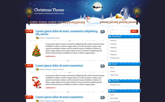 Xmas Theme by Site5