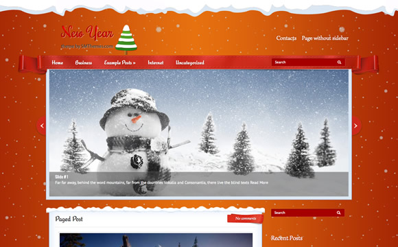 new year theme xmas theme by smthemes