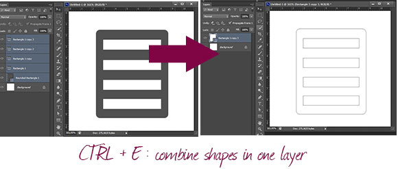 Merging Shape Layers