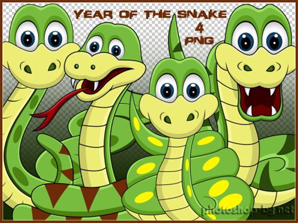 Year of the Snake Clipart