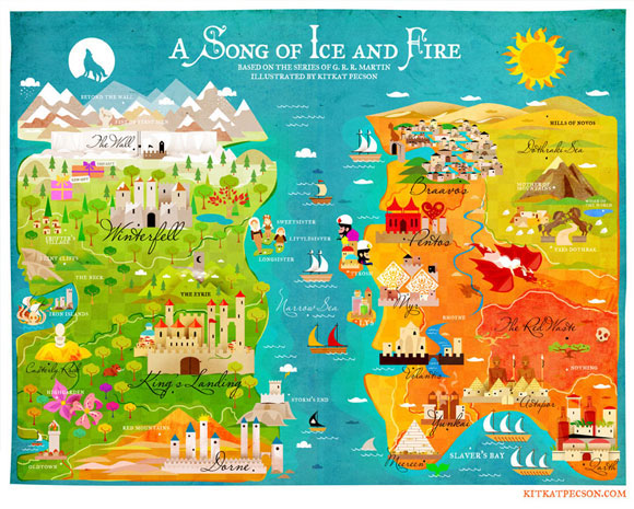 A Map of Ice and Fire