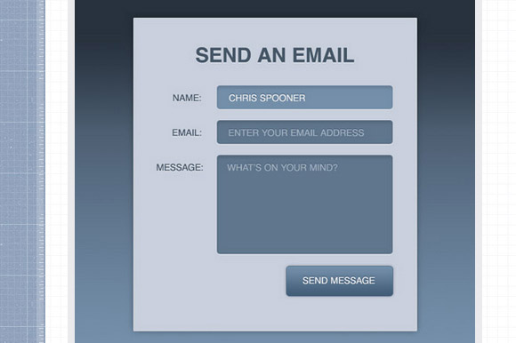 Create a Stylish Contact Form with HTML5 and CSS3