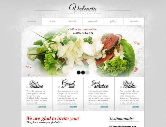 Free Website for Restaurant Business