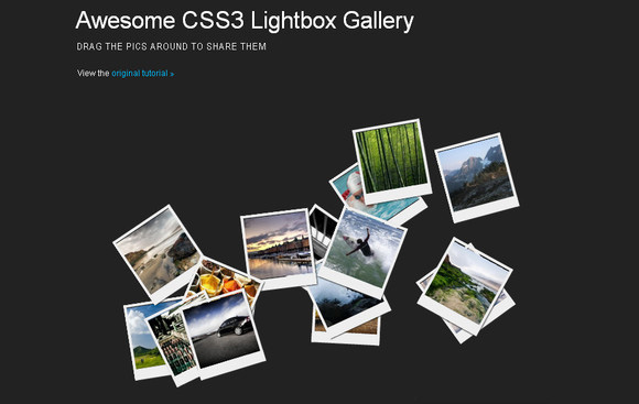 An Awesome CSS3 Lightbox Gallery With jQuery