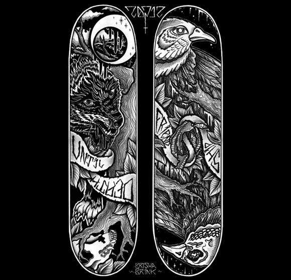 skateboard decks design - Skateboard Design Ideas