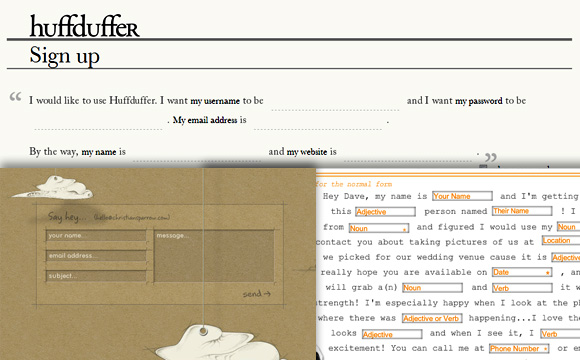 5 Brilliant Web Form Designs You Should Know About