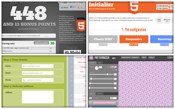 Useful HTML5 Tools & Resources For Web Designers & Developers