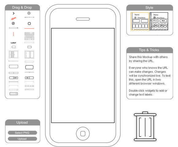 free online wireframe