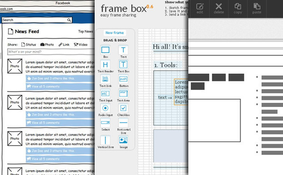 22 good prototype and wireframe tools for mobile and web design - Mobile Mockup Tools
