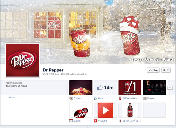 Dr Pepper Timeline Cover