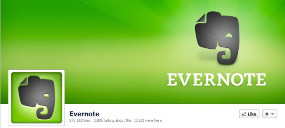 Evernote Timeline Cover