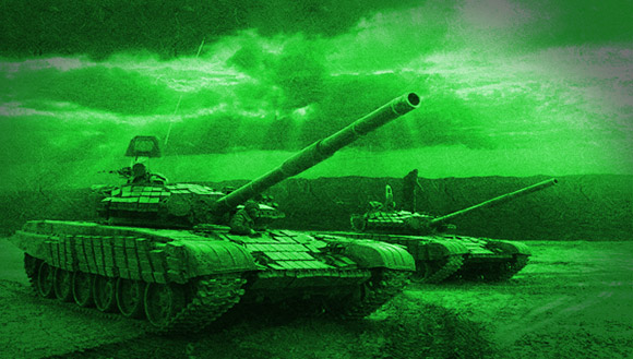 Producing Night Vision Effect