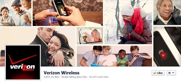 Verizon Timeline Cover