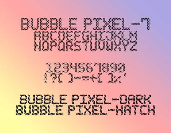 Bubble Pixel-7