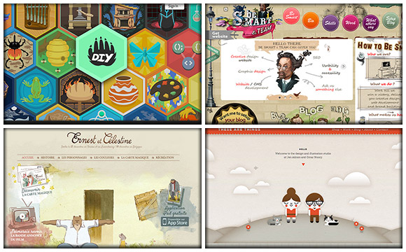 60+ Outstanding Examples of Hand Drawn Website Design