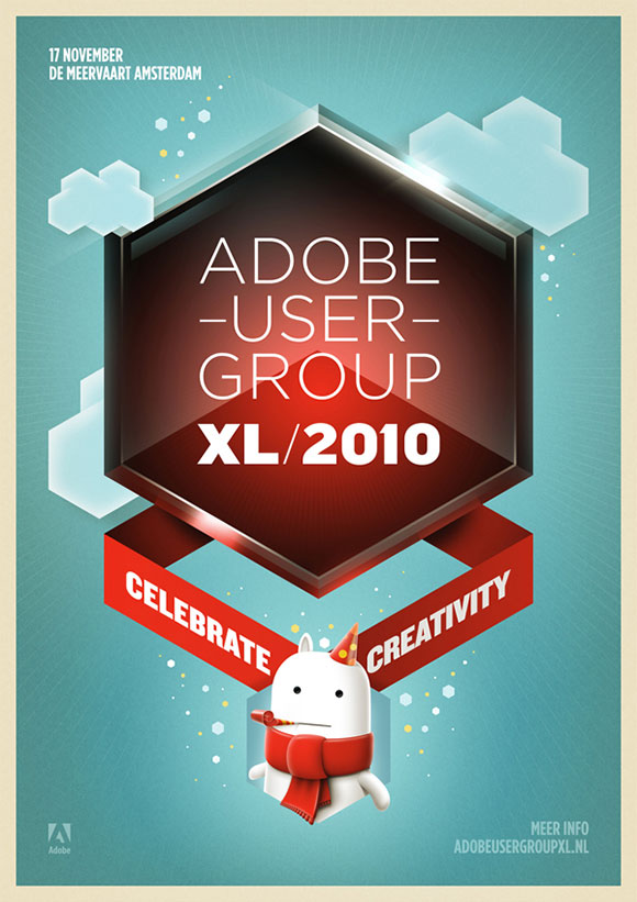 Adobe User Group XL  Event Flyer Examples