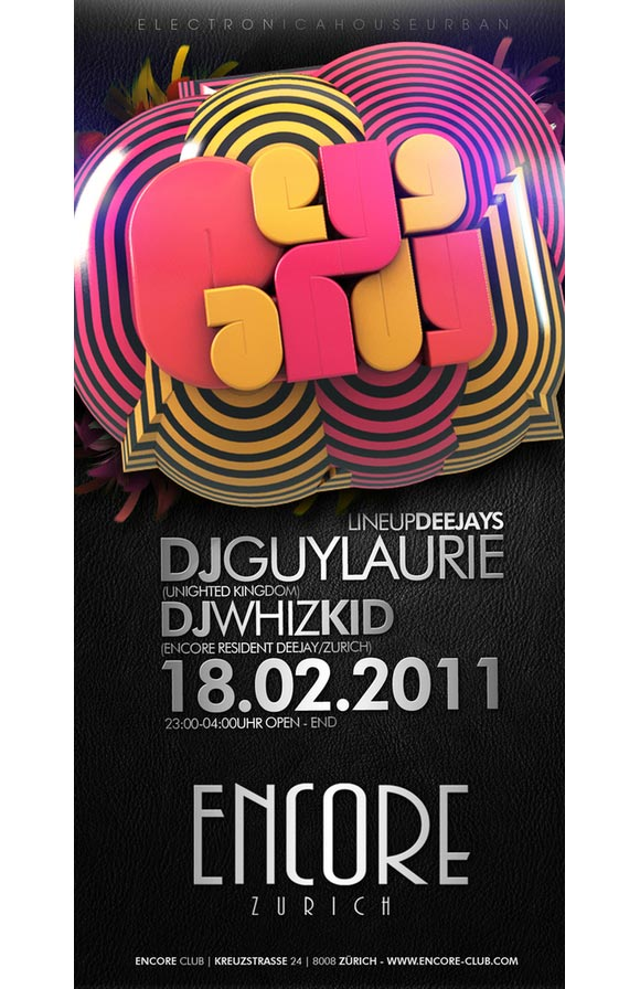 encore club - Flyer Design Ideas