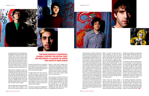 Feature Article for Austin Music Magazine