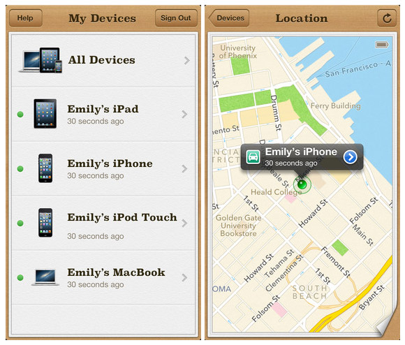 how to find my iphone 5 if lost