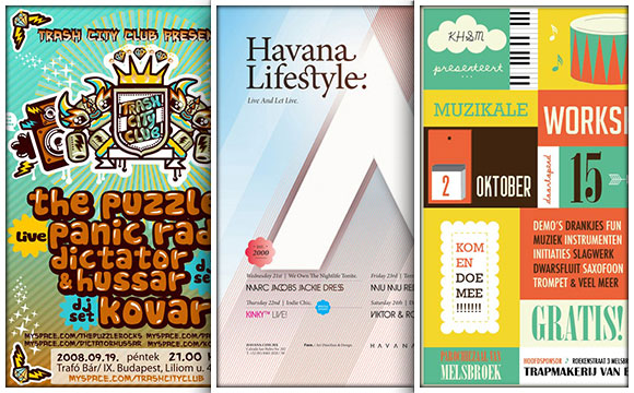 40 stunning and inspirational flyer designs