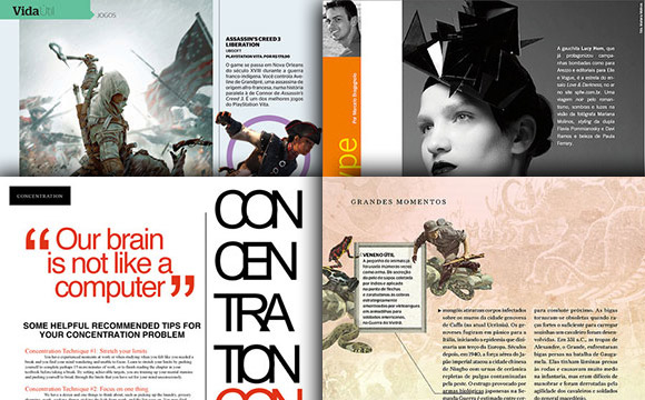 Inspirational and Attractive Magazine Page Layouts