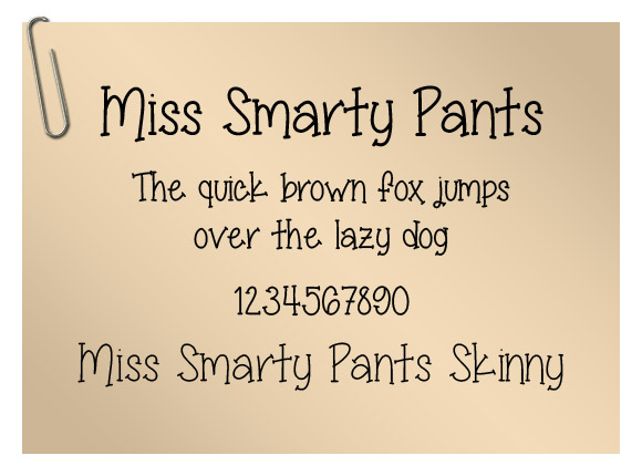 Miss Smarty Pants