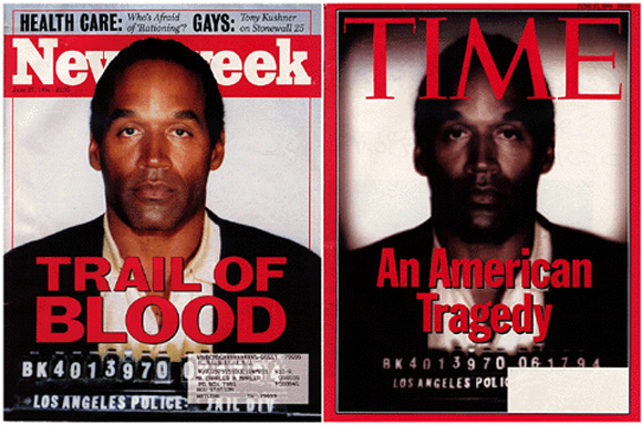 OJ Simpson Time Magazine