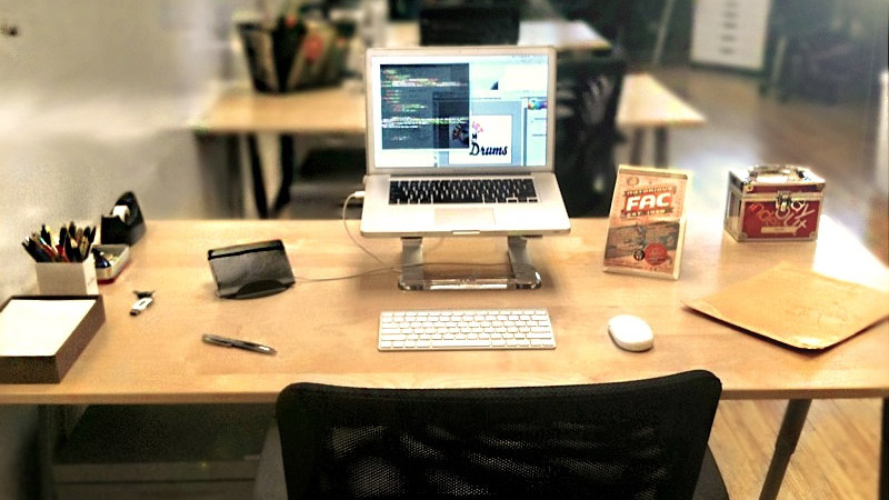 Workspace: Office Desk: Carson Kahn
