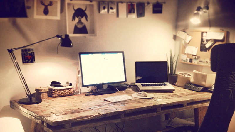 My Workspace: Justin Schueler