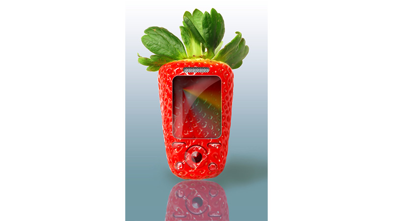 Strawberry Phone