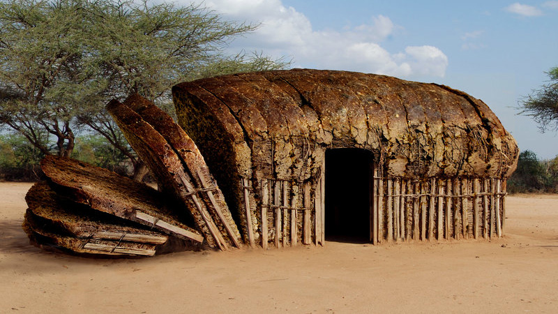 African Bread Hut