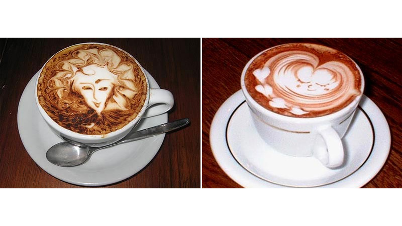 Latte Art by The Voyager