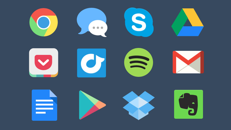 Free Colourful Icons