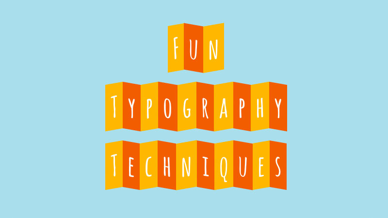 3 fun typography techniques using lettering js