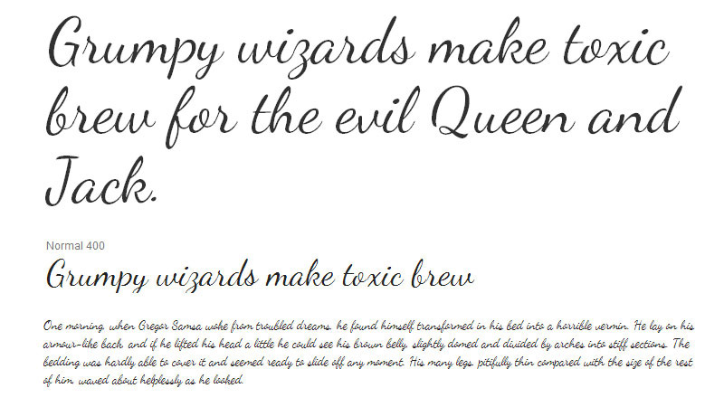 30 Beautiful Google Fonts for Your Website