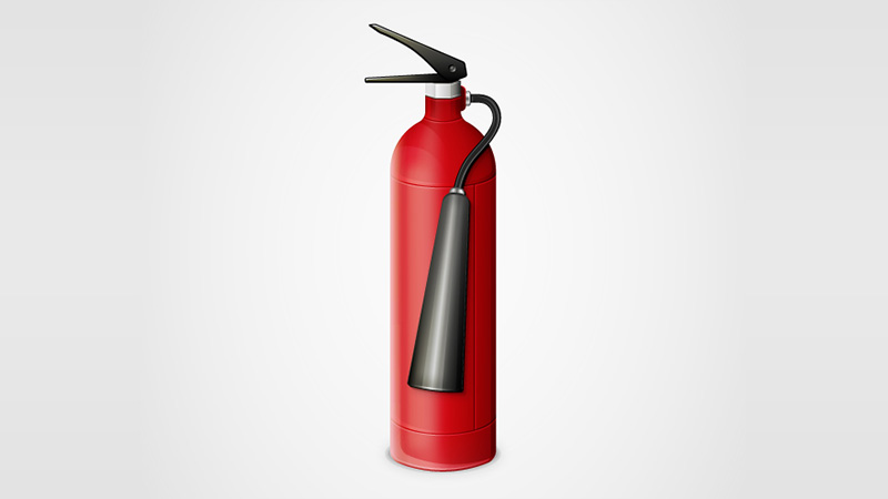How to Create a Detailed Fire Extinguisher in Adobe Illustrator