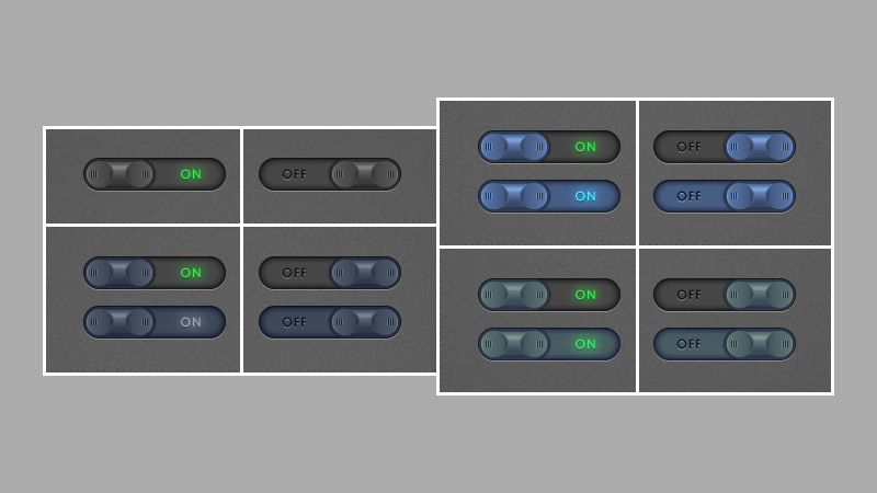 How to Create a Set of Toggle Buttons in Adobe Illustrator