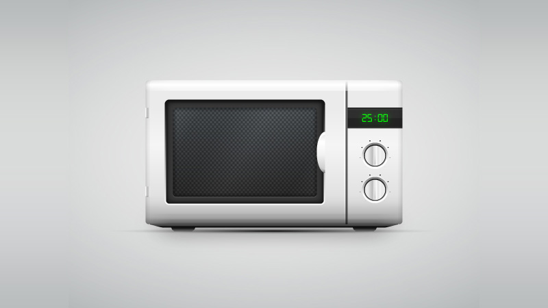 How to Create a Vector Microwave Oven