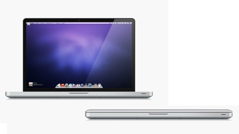 Create a Semi-Realistic MacBook Pro Illustration
