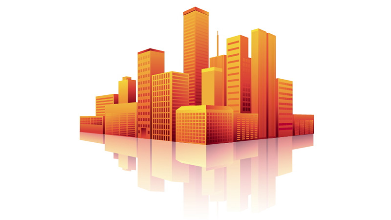 Create a Shimmering Cityscape in Perspective Using Illustrator CS5