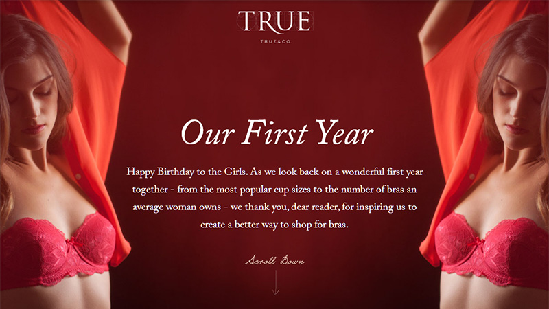 True & Co Anniversary