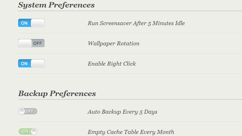 Styled Checkboxes