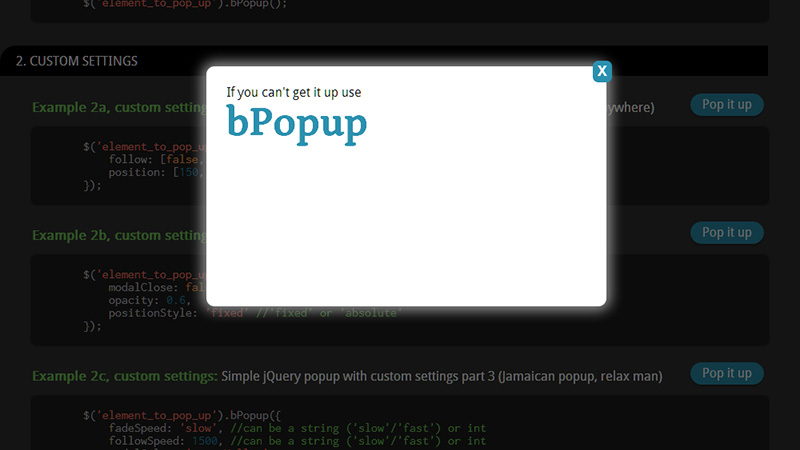 Top 10 jQuery Plugins for Modal Windows
